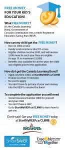 Cheque Insert - ESIC New Brunswick - EN